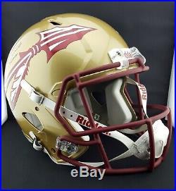 Jameis Winston Autographed Signed & Inscribed FSU Seminoles F/S Speed Helmet PSA
