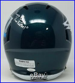 Jason Kelce Autographed/signed Inscribed Full Size Sb LII Eagles Helmet Jsa Coa