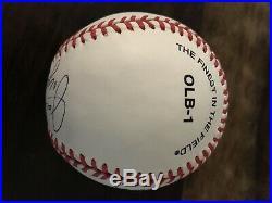 Joe DiMaggio Autographed Baseball Inscribed Yankee Clipper JSA Certified