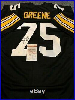 Joe Greene Autographed Signed Inscribed Pittsburgh Steelers Jersey Jsa Coa