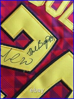 John Collins Signed Autograph Atlanta Hawks Jersey Inscribed The Baptist NBA