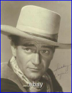John Duke Wayne Autographed Inscribed Photograph