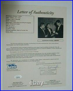 John F Kennedy Inscribed And Signed 8 X 10 Historical Importance Photo Coa Jsa