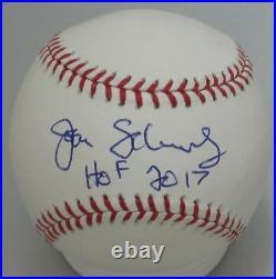 John Schuerholz autographed signed ROMLB baseball inscribed HOF JSA COA