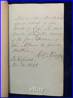 John Wesley METHODIST Autographs MANUSCRIPT Album SIGNED Hymns 70+ SIGNATURES