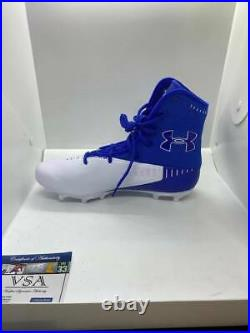 Josh Allen Buffalo Bills Autographed Nike VPR Football Cleat Inscribed with COA