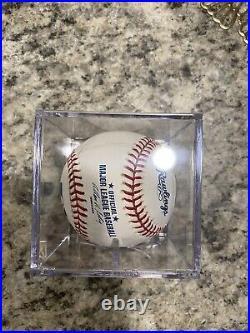 Josh Gibson Inscribed Mykelti Williamson Autographed Baseball Authenticated