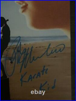 Karate Kid Autographed 11x17 Photo, Signed & inscribed By Macchio, Zabka & Kove