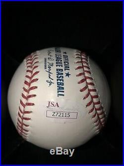 Ken Griffey Jr Autographed Inscribed HOF baseball