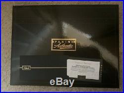 Kobe Bryant Autographed & Inscribed Black Mamba Lakers Gold Jersey Panini COA