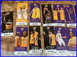 Kobe Bryant Signed Autograph Ticket Stub JSA COA Inscribed 24 Lakers with Bonus