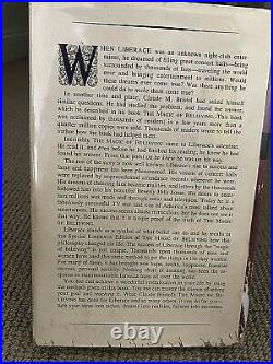 LIBERACE autographed inscribed 1955 special edition Bristol's MAGIC OF BELIEVING