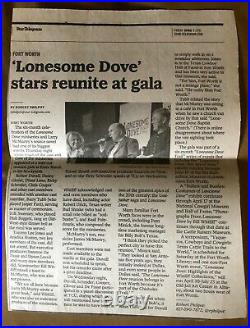 LONESOME DOVE Limited SET Easton Press SIGNED MCMURTRY Robert DUVALL+MOVIE Cast