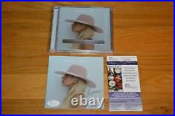 Lady Gaga Autographed Joanne CD Booklet Inscribed XOXO with James Spence COA