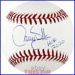 Larry Walker Signed Autographed ML Baseball Inscribed HOF 2020 TRISTAR