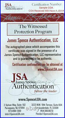 Lawrence Taylor Autographed Custom New York Giants Hof 99 Inscribed Jersey Jsa