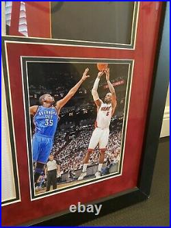 LeBron James Autographed 2012 NBA Champs/MVP 1/106 Inscribed LE Jersey