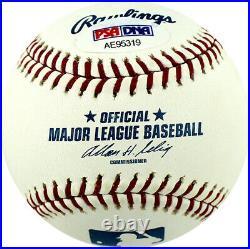 Lon Simmons Signed Autographed ML Baseball Inscribed Hof 2004 Psa Sf Giants