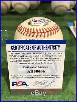 Luke Appling Signed Baseball HOF 1964 Inscribed Auto Autographed PSA/DNA