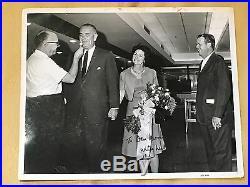 Lyndon B Johnson LBJ Inscribed 8x10 Photo B/W Signed Autographed