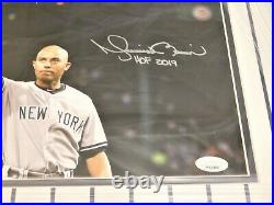 MARIANO RIVERA SIGNED / AUTOGRAPHED 8x10 FRAMED PHOTO HOF 2019 Inscribed JSA (A)