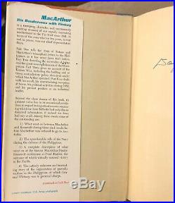 MacArthur His Renezvous With History, autographed by Gen. Douglas MacArthur