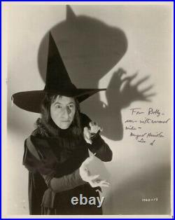 Margaret Hamilton Autographed Inscribed Photograph