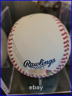 Mariano Rivera Autographed & Inscribed Enter Sandman Baseball PSA COA