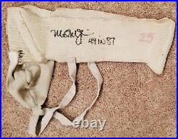 Mark McGwire Game Used Rookie Year Jock Strap Jersey Auto Signed Inscribed Twice
