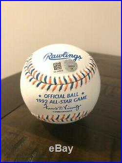 Mark McGwire signed autographed inscribed All Star game mlb baseball mlb coa
