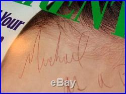 Michael Jackson INSCRIBED & SIGNED MAGAZINE 1992 autographed 8.1x10.5 UNIQUE