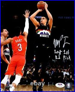 Michael Porter Jr. Autographed signed inscribed 8x10 photo Denver Nuggets PSA