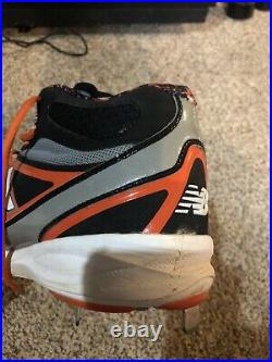 Miguel Cabrera Game Worn Hologram Triple Crown Cleat Autographed/Inscribed