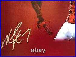 Mike Vick autographed signed inscribed 20x24 canvas RARE NFL Atlanta Falcons JSA