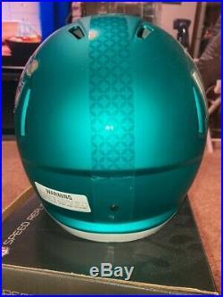 Patrick Mahomes Autographed & Inscribed Super Bowl Replica Speed helmet