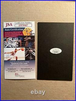 President Elect Joe Biden Signed Cut Signature JSA Authentic Inscribed