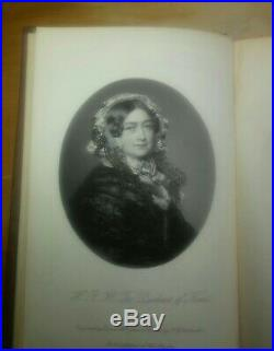 Queen Victoria SIGNED INSCRIBED 1877 book Life of the Prince Consort Albert, V. 3
