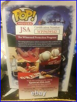 Randy Quaid Signed LAMPOON'S CHRISTMAS VACATION POP Inscribed COUSIN EDDIE JSA