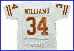 Ricky Williams autographed signed inscribed jersey NCAA Texas Longhorns JSA COA