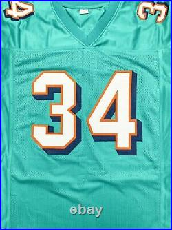 Ricky Williams autographed signed inscribed jersey NFL Miami Dolphins PSA COA