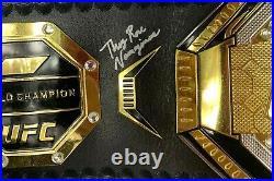 Rose Namajunas autographed signed inscribed replica UFC belt PSA COA Full Graph