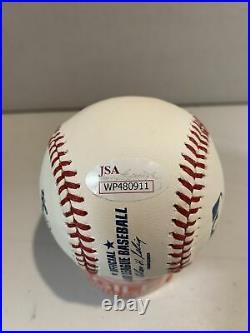 Roy Halladay Autograph Signed Inscribed PG 5-29-10 OMLB Official Baseball JSA