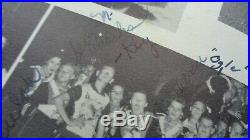 Roy Orbison Autograph 4 Times Signed & Inscribed 1952 Wildcat Yearbook. Epperson
