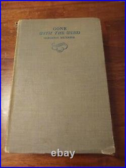 SIGNED Gone with the Wind May 1936 with DJ 1st Printing First Edition Autograph