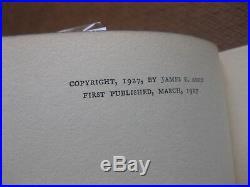 SIGNED HERO TO HIS VALET by James E. Amos -1st HCDJ 1927 Roosevelt F. B. I