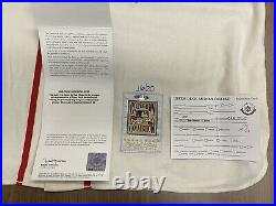 STAN MUSIAL Upper Deck UDA Signed Inscribed Stat Throwback Jersey Autograph #/20