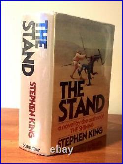 STEPHEN KING Autographed Inscribed Signed Book THE STAND 1st Edition