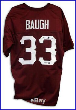 Sammy Baugh Autographed Jersey Inscribed HOF 63 Washington