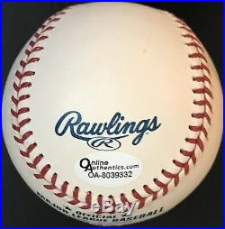 Sandy Koufax HOF 72 Autographed and Inscribed MLB Baseball, Beckett LOA