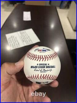 Signed Baseball Inscribed with Charlie Sheen, Tom Berenger, Corbin Bernsen PSA